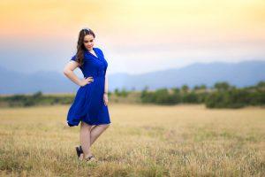 Портретна фотография на Виктория в Пловдив
