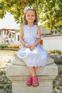 Детска фотография на момиченце в Стария град