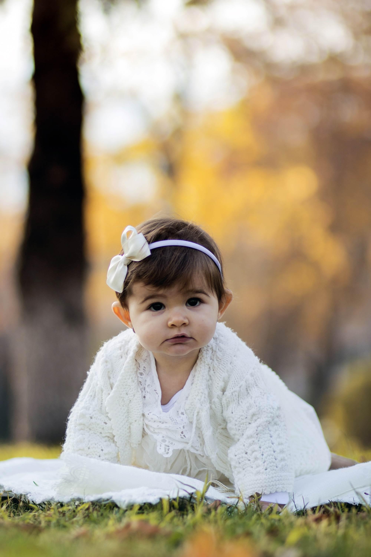 Детска фотосесия на Ивон в парка