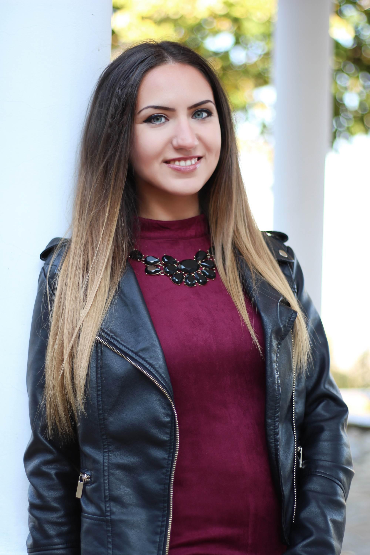 Портретна фотосесия на Надя след ретуш