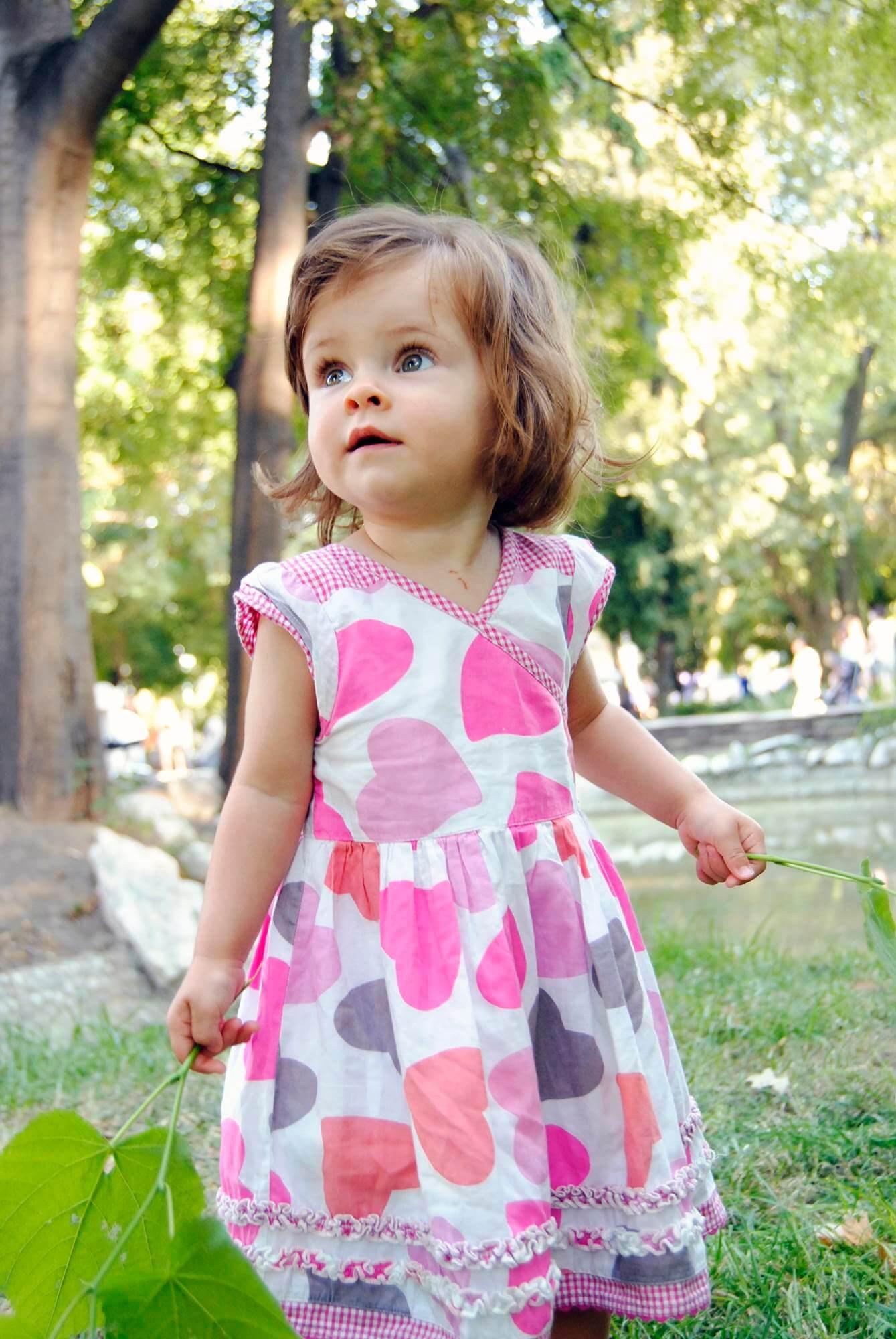Детска фотосесия на момиченце в Пловдив