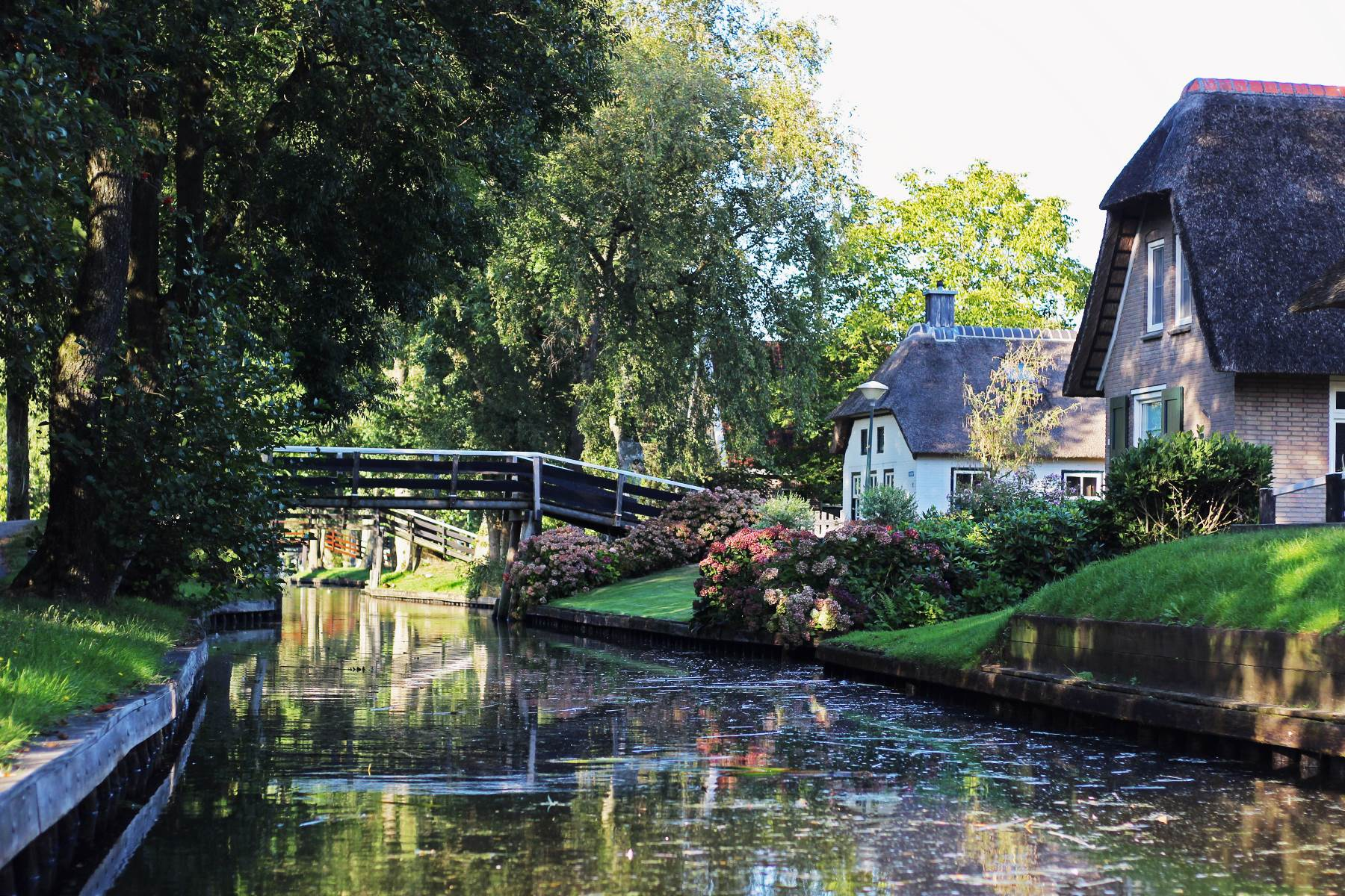 Снимка на къщи за пейзажна фотография