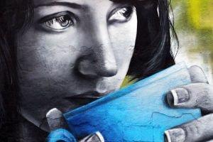 Снимка на графит