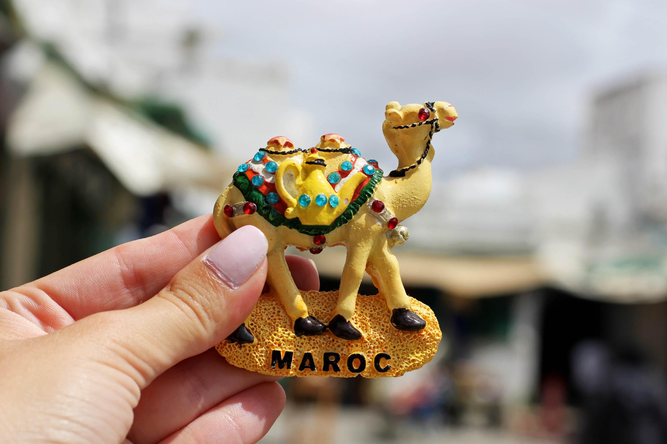 Снимка на сувенир в Мароко