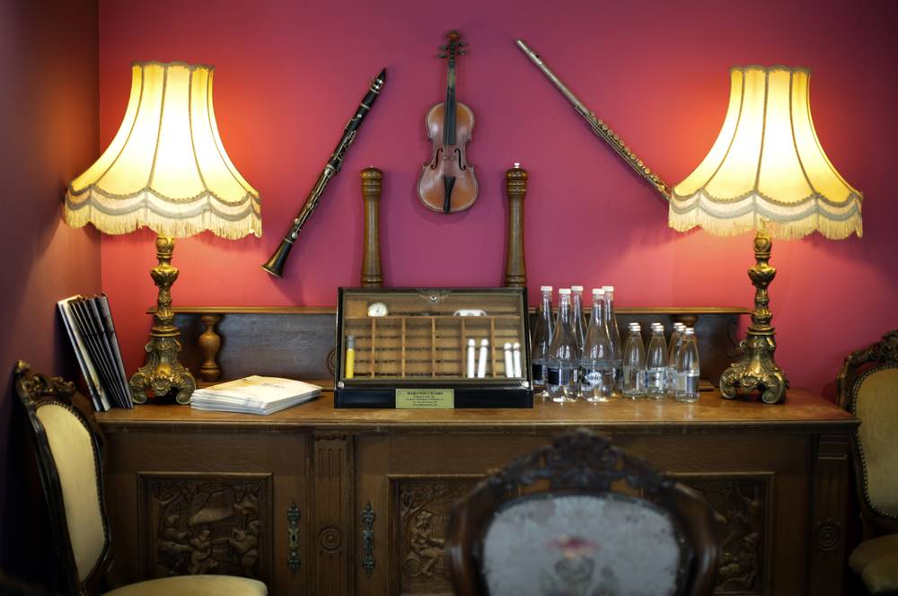 Снимки от интериора на ресторант Марбея, Пловдив