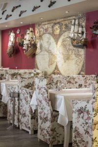 Фотография на интериор на ресторант в гр. Плодвив