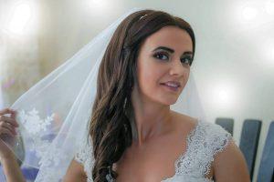 Сватбена фотосесия на Мария преди ретуш