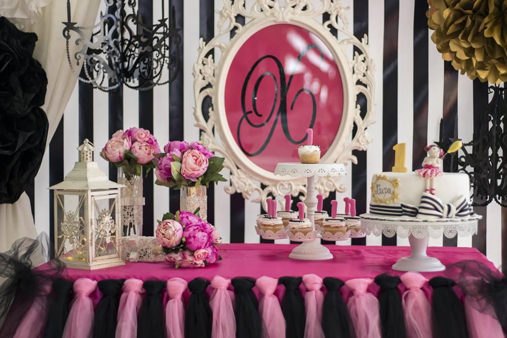 Снимка на детайли от декорация за рожден ден