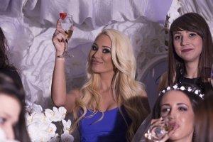 Снимка на кумата на моминско парти в Пловдив